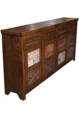 Embroidered Door Sideboard