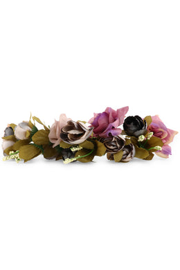 Plum Gypsiana Flower Crown
