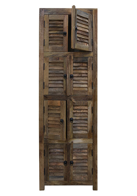 Mango Wood 8 Door Cabinet
