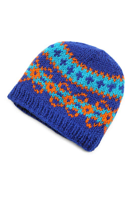 Assorted Stripe Knit Beanie