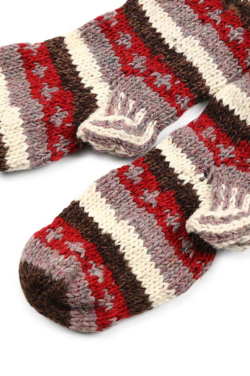Assorted Nepalese Mid Length Woollen Socks