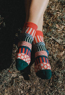 Assorted Hippie Pattern Socks