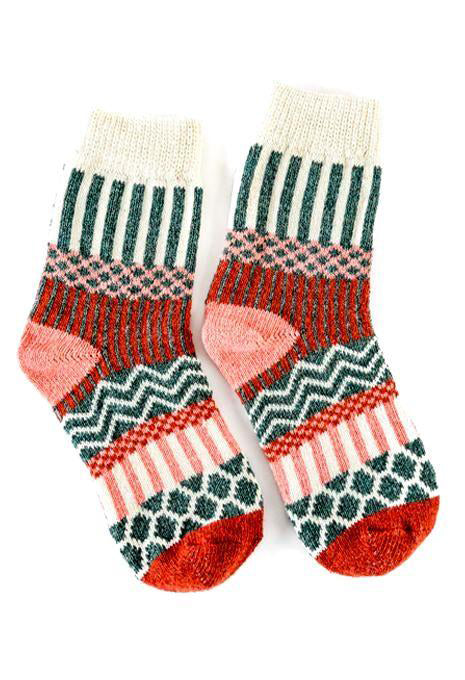 Socks Crew Diamond Stripe