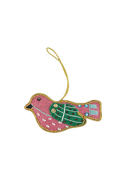 Pink Peace Dove Decoration