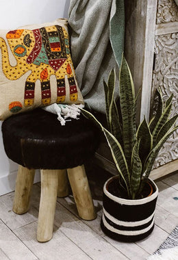 Safari Fleck Stool