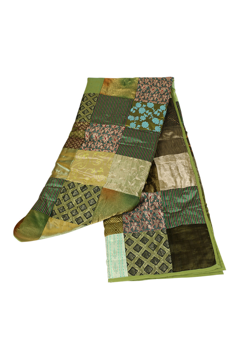 Assorted Brocket Patch Quilt