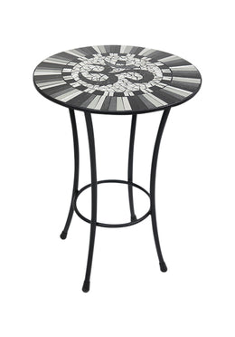 Om Mosaic Top Table