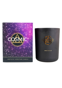 Amethyst Cosmic Candle