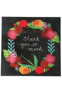 La La Land Botanical Thank You Card