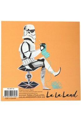 La La Land The Force Is Strong Card
