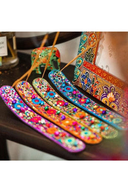 Assorted Sequins Incense Holder