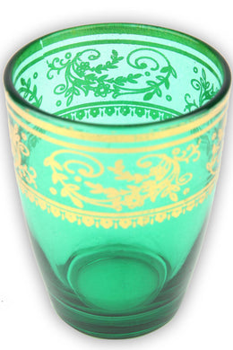 Green Moroccan Tea Glass