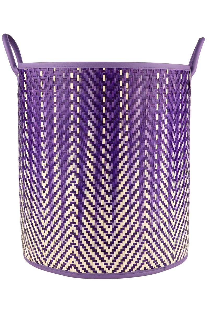 Purple Ombre Laundry Basket