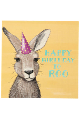 La La Land Roo Happy Birthday Card
