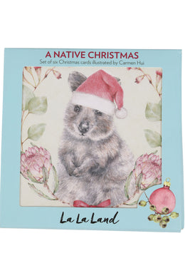 La La Land Native Christmas Card