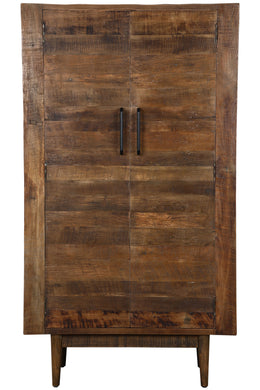 Repurposed Tracy Timber Tall Cabinet