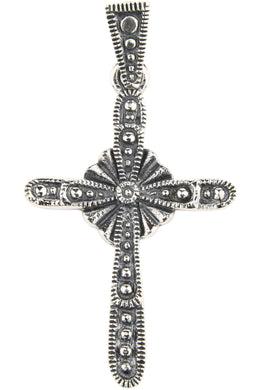 Oxidised Cross Pendant