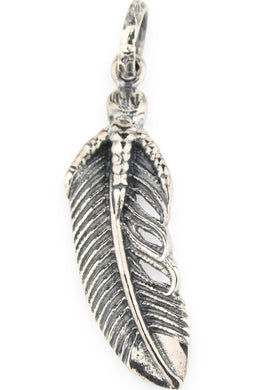 Detailed Feather Pendant