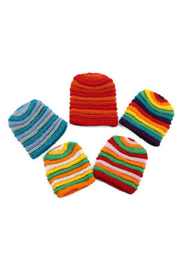 Assorted Rolled Beanie