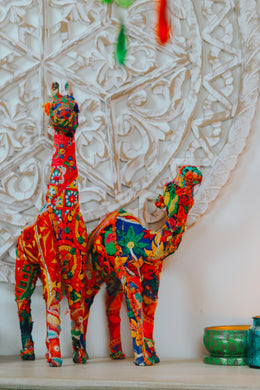 Embroidered Gujarati Animal Statue