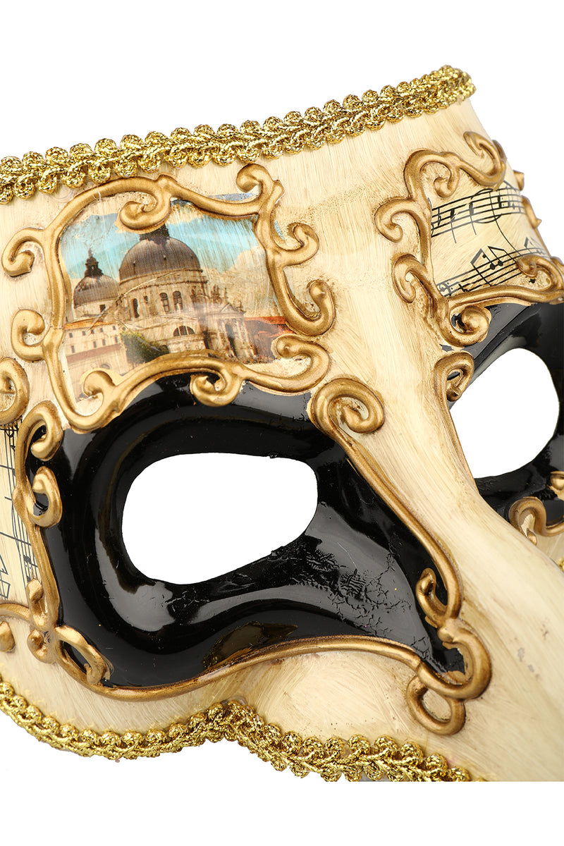 Venetian Musical Beak Mask