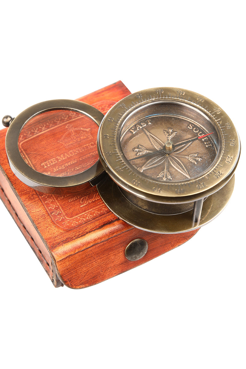 Compass Magnifying Glass Giftbox