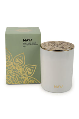 Maya Glass Jar Candle
