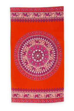 Boho Cotton Beach Towel