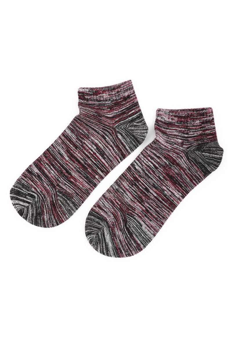 Assorted Space Dye Ankle Hippy Socks