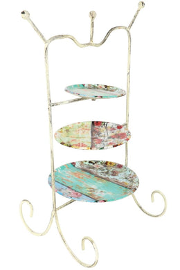 3 Tier Iron Jewellery Stand