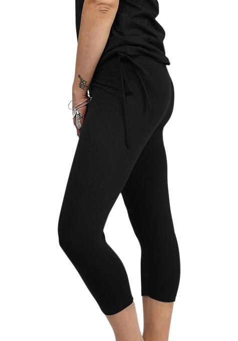 3/4 Side Tie Yoga Leggings