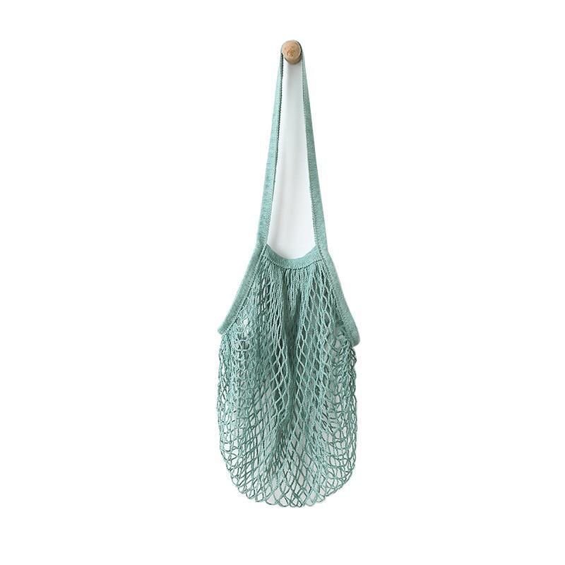 Beehave 100% Cotton Net Tote Bag 'Sage'