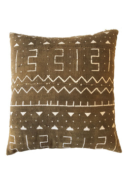 Authentic Fawn Mudcloth Cushion