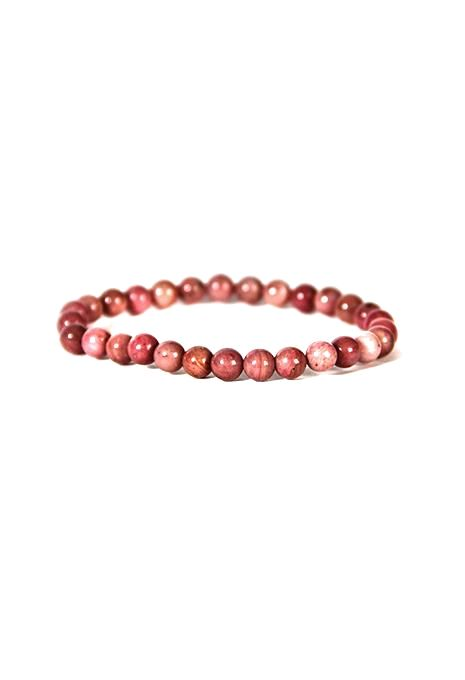 6Mm Rhodonite Bracelet