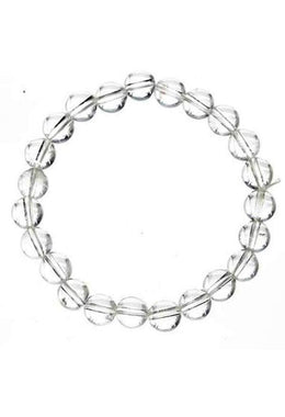 8mm Crystal Quartz Bracelet