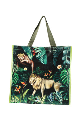 Jungle Kingdom Reusable Market Bag