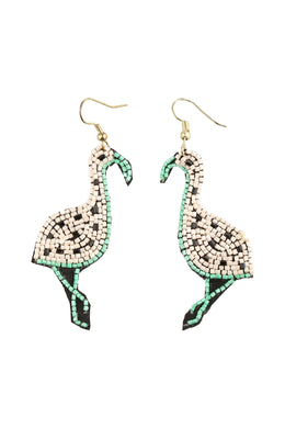 Fancy Flamingo Earrings
