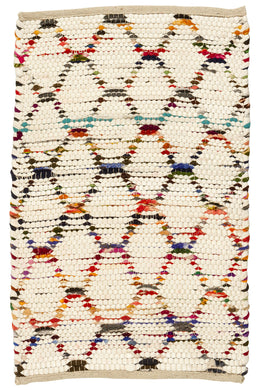 Multi Beehive Polar Rug - Small