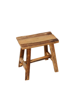 Rustic Teak Kitchen Stool