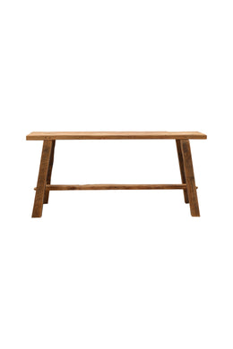 Rustic Teak Kitchen Bench