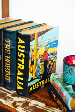 Australia Beach Book Box - Small