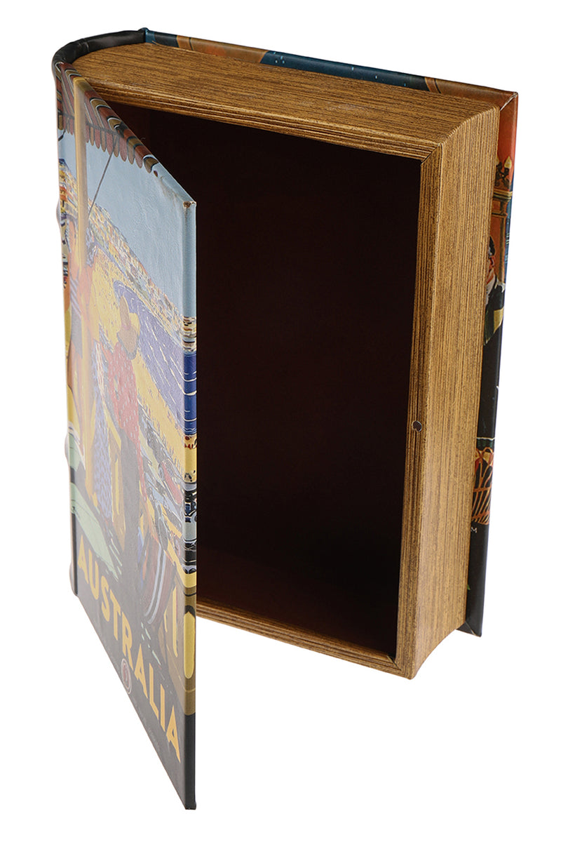 Australia Beach Book Box - Large
