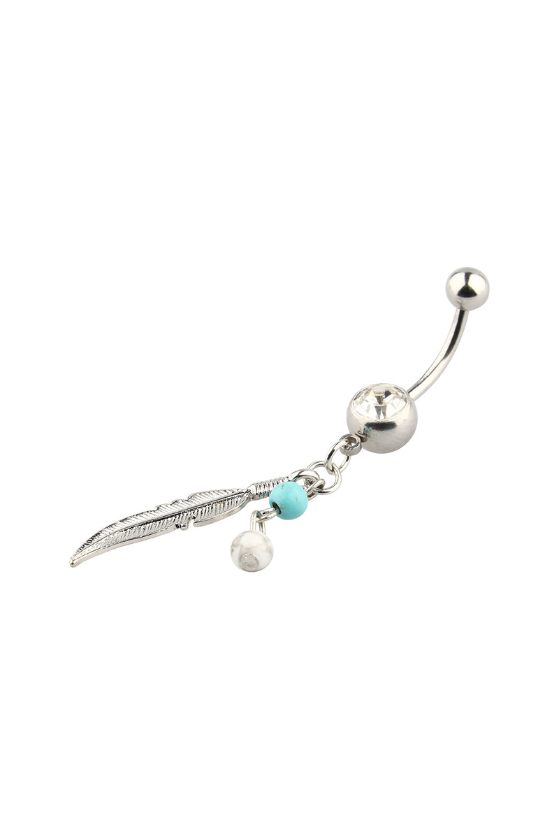 Hamsa Belly Ring