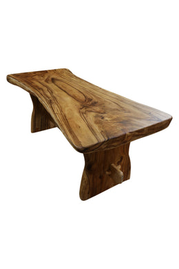 Teak Freeform Dining Table