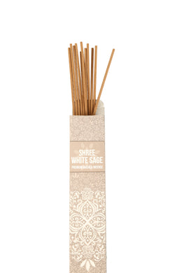 New Moon Shree White Sage Incense