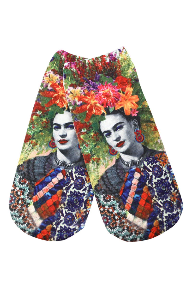 Frida Kahlo Ankle Socks