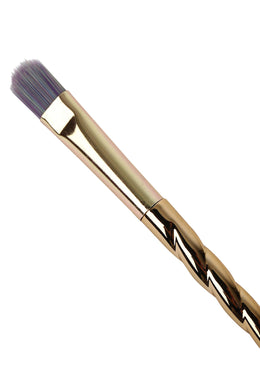 Gold Unicorn Cosmetic Brush