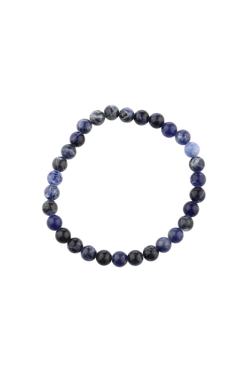 Gemstone Beaded Bracelet - 6mm