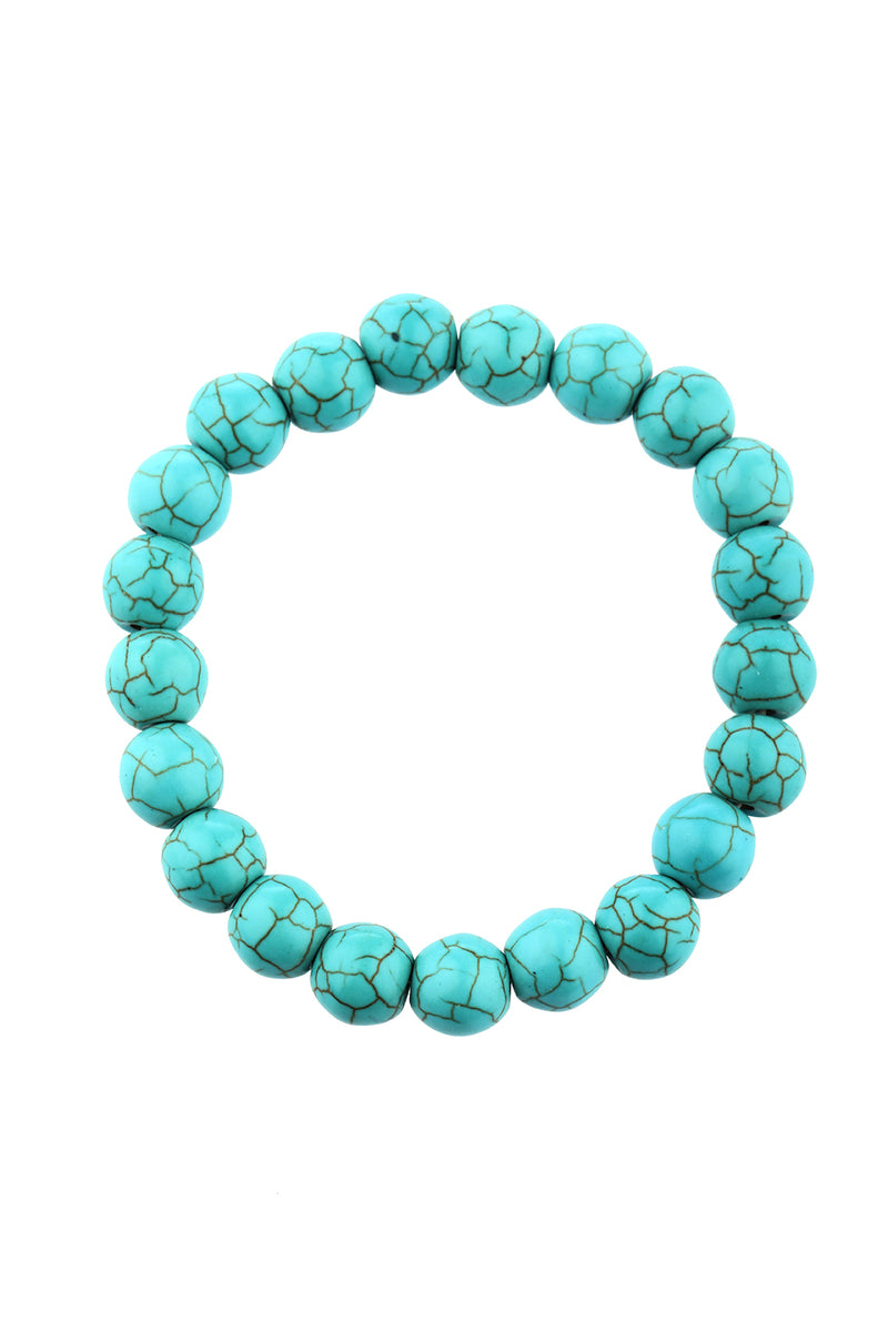 Bracelet Round 10mm Gemstone