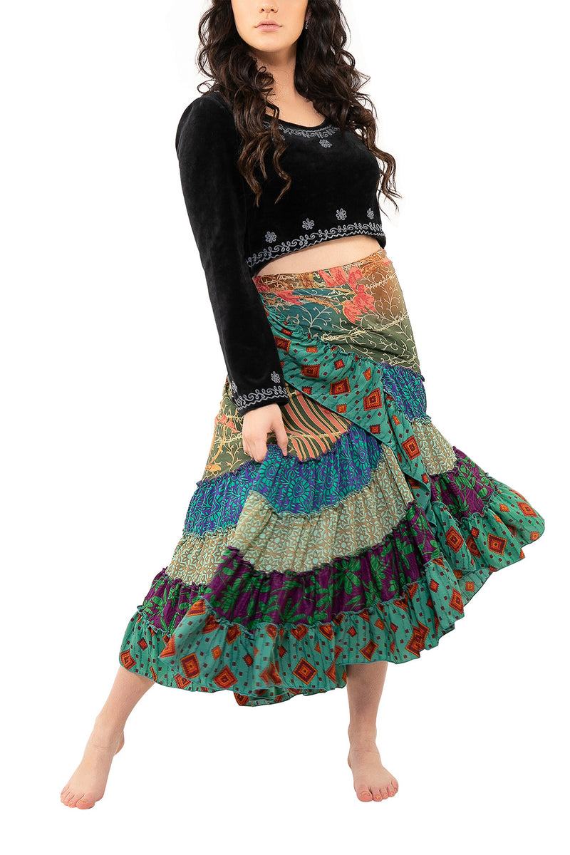 Assorted Flamenco Wrap Skirt